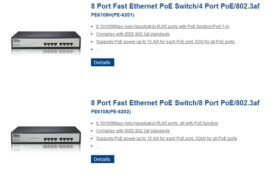 PoE —— Power over Ethernet