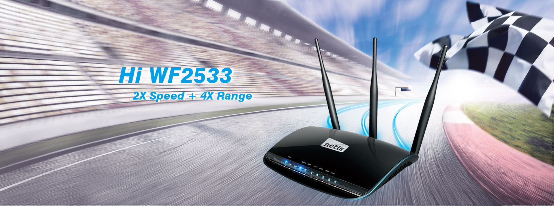 WF2533 300Mbps Wireless N High Power Router