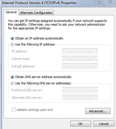 Why cannot I access the Internet after successfully connected to the