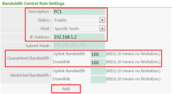 How to configure Bandwidth Control (QoS) on netis wireless